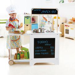 Hape Kitchen Cabinet Refinishing Kit 厨房餐车 E3126 Toys