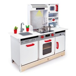 Hape Kitchen Teak Cabinets All Toys In 1