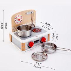 Hape Kitchen Apartment Cabinet Ideas 北欧风双面迷你厨房 E3151 Toys