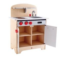 Hape Play Kitchen Pantry White Gourmet E3152 Toys