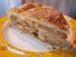 Klassischer gedeckter Apfelkuchen