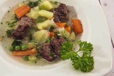Exklusive Gemüse Suppe