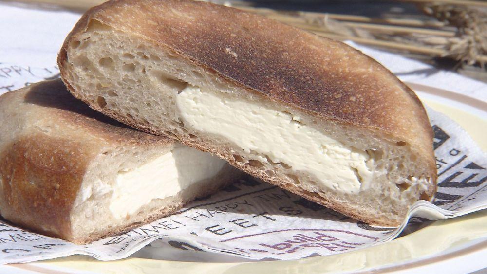 クリームチーズがたっぷり
