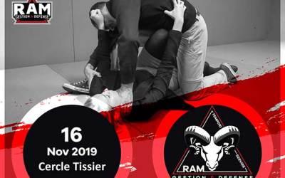 Troisième Stage de Protection Personnelle de la saison le 16/11/2019