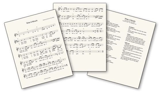 Sheet Music for Hap Palmer Children's Songs