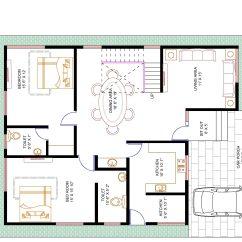 Water Resistant Laminate Flooring Kitchen Sink Spray Hose 4-bhk Floor Plan For 40 X 50 Plot (2000 Square Feet/222 ...