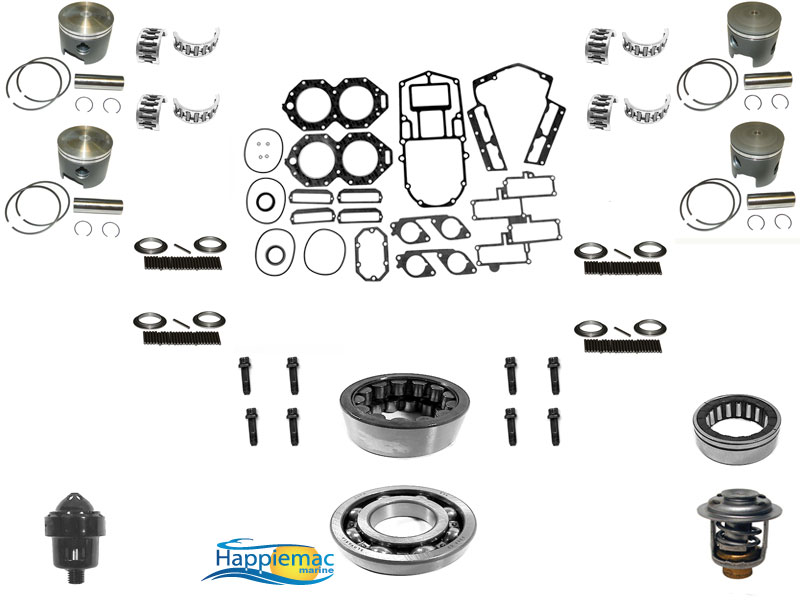 Johnson Evinrude 120 130 140 HP V4 Powerhead Rebuild Kit