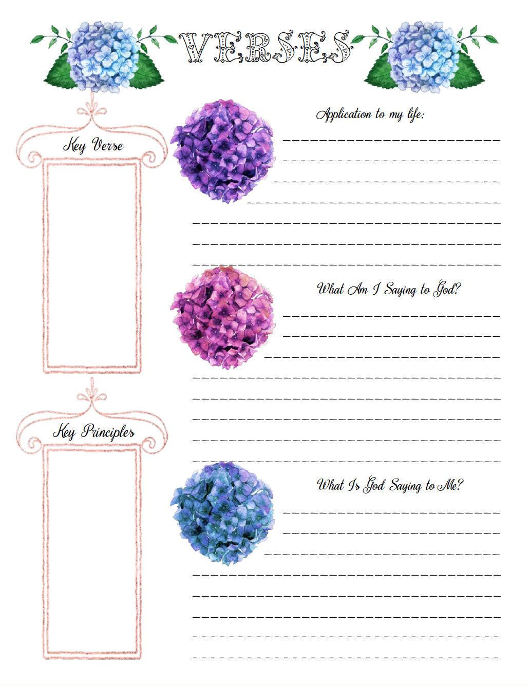 15 Free Bible Journaling Printables And Templates