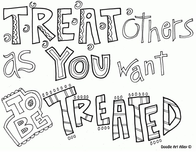 5 Printable Kindness Coloring Pages for Children or Students