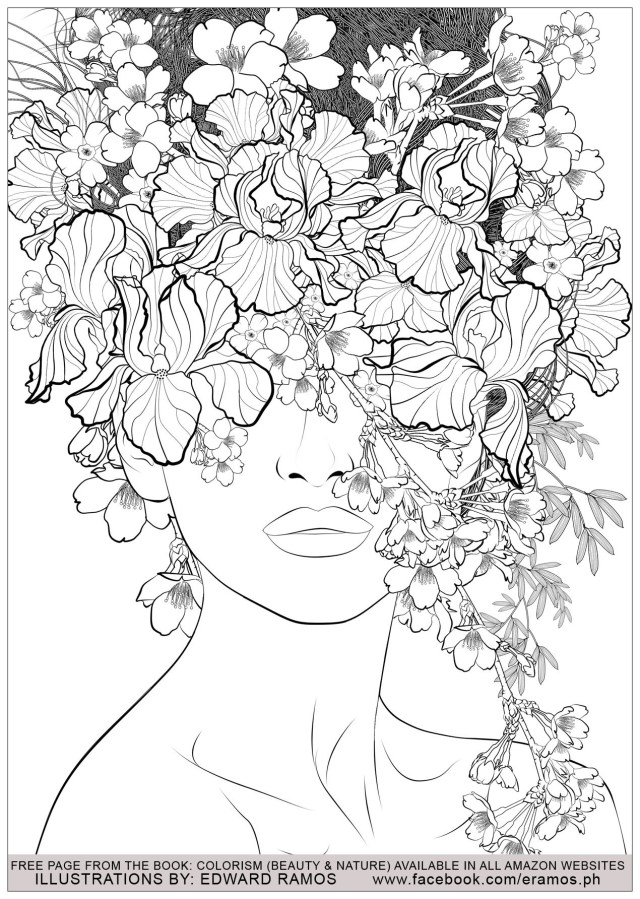 15 Adult Coloring Pages That Are Printable and Fun - Happier Human