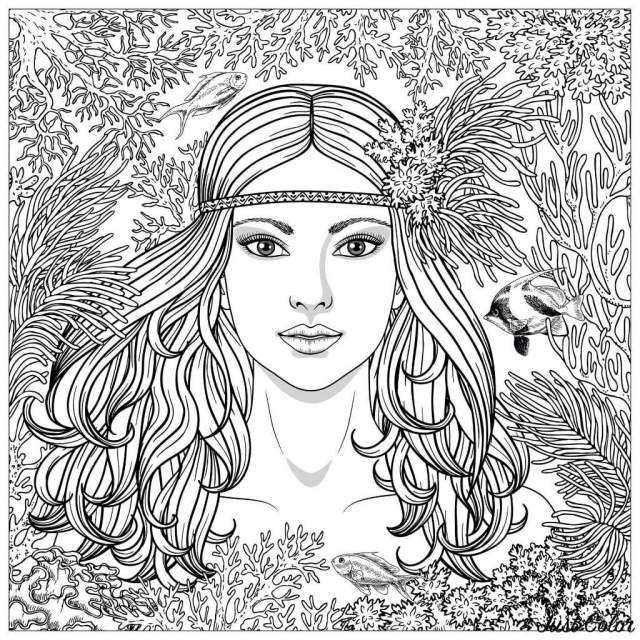 27 Printable Stress Relief Coloring Pages for Adults - Happier Human