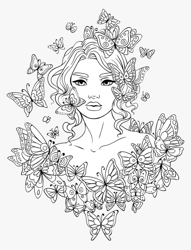 12 Printable Coloring Pages for Teens - Happier Human