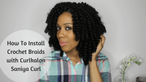 Crochet Braids For Work : How To Install Curlkalon Crochet Braids - Happily Ever Natural