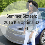 Summer Sixteen With the 2016 Kia Optima SX Limited
