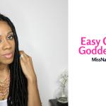 Easy Crochet Goddess Locs Tutorial