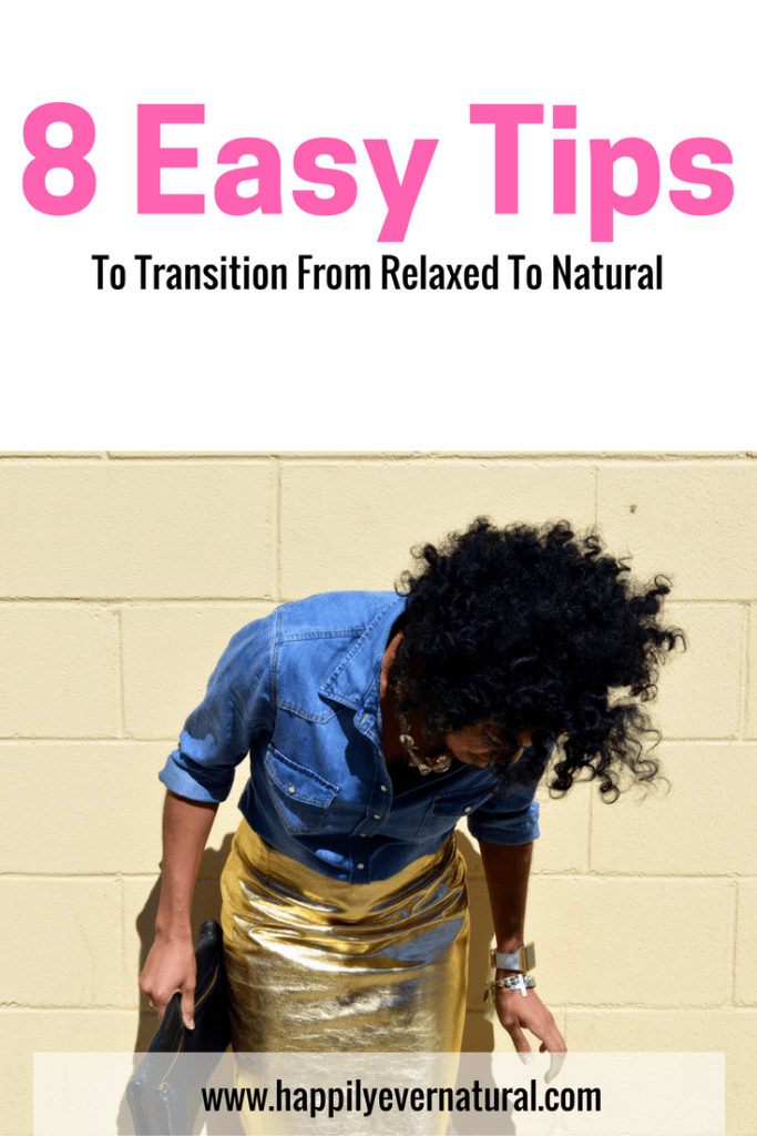 how to transition from relaxed to natural
