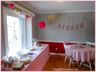 Tutu Party Decor | HappilyFrazzled.com
