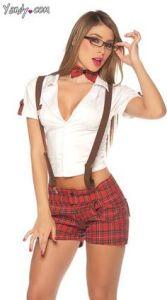 sexy nerd costume