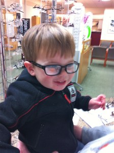 Toddler Glasses Shopping