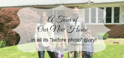 """A tour of our new house in all it's """"before photo"""" glory. 