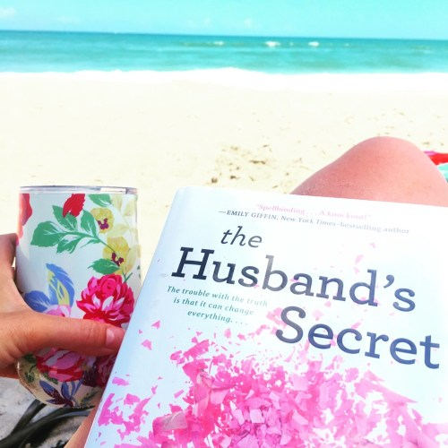 Book Recommendation Reading List.  The Husband's Secret | HappilyFrazzled.com