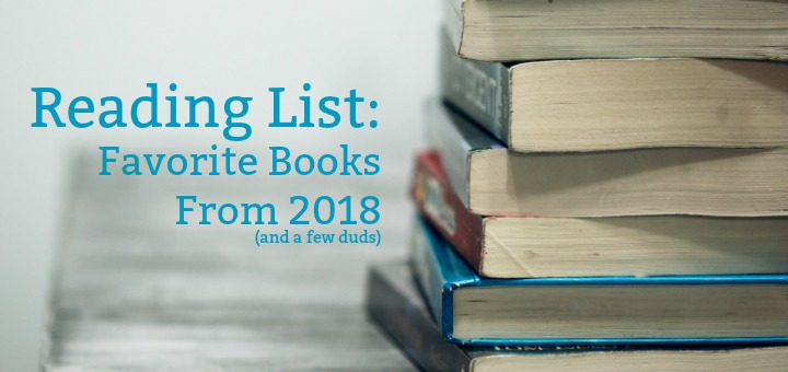 Reading List: Best Books from 2018 | HappiyFrazzled.com
