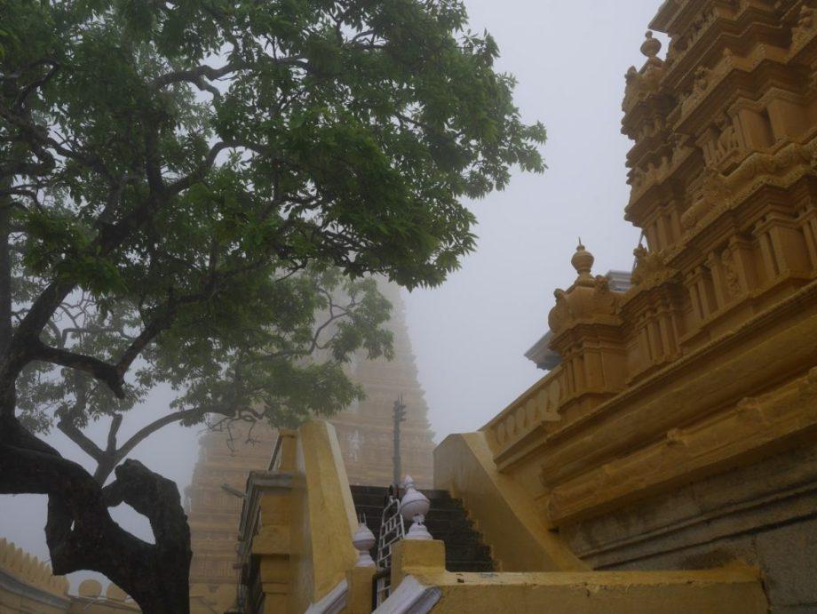 Chamundeshwari Temple on Diwali