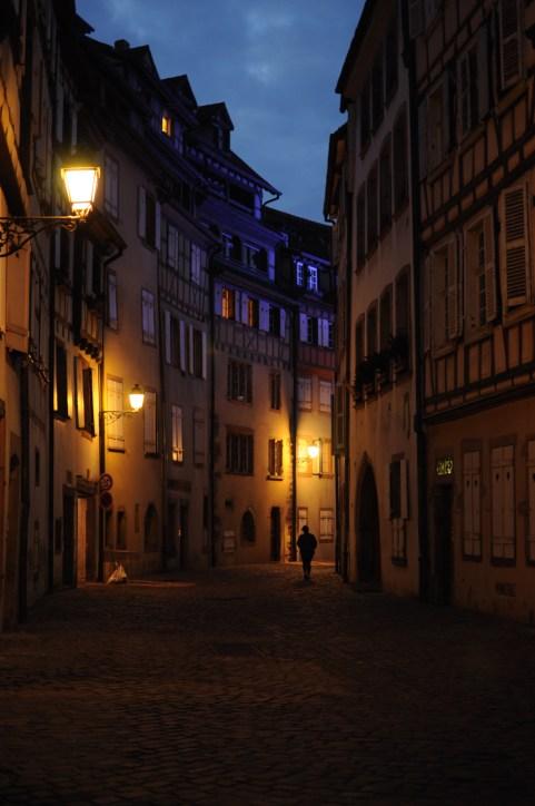 France Colmar at night-3