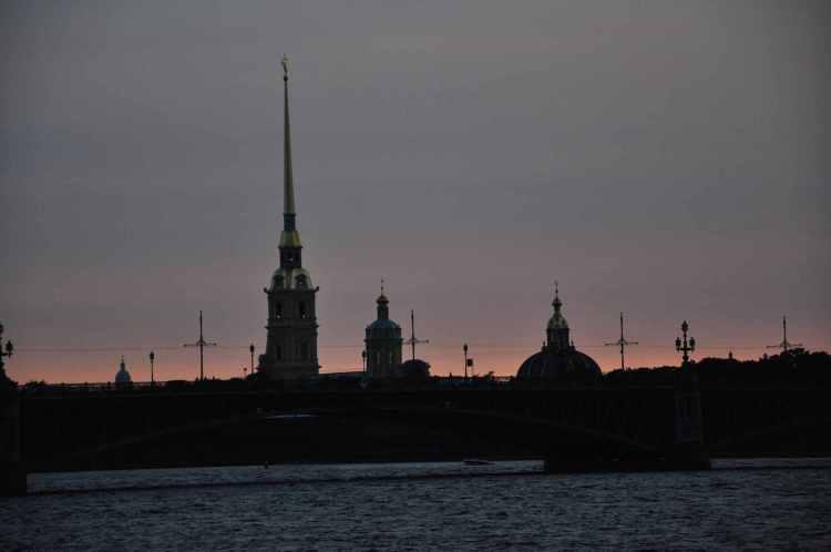 Petersburg-sky