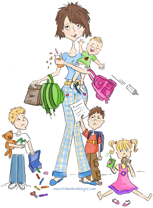 busy-mom