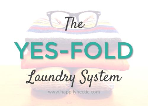 yes-fold laundry system