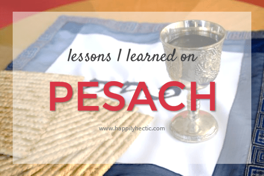 pesach lessons