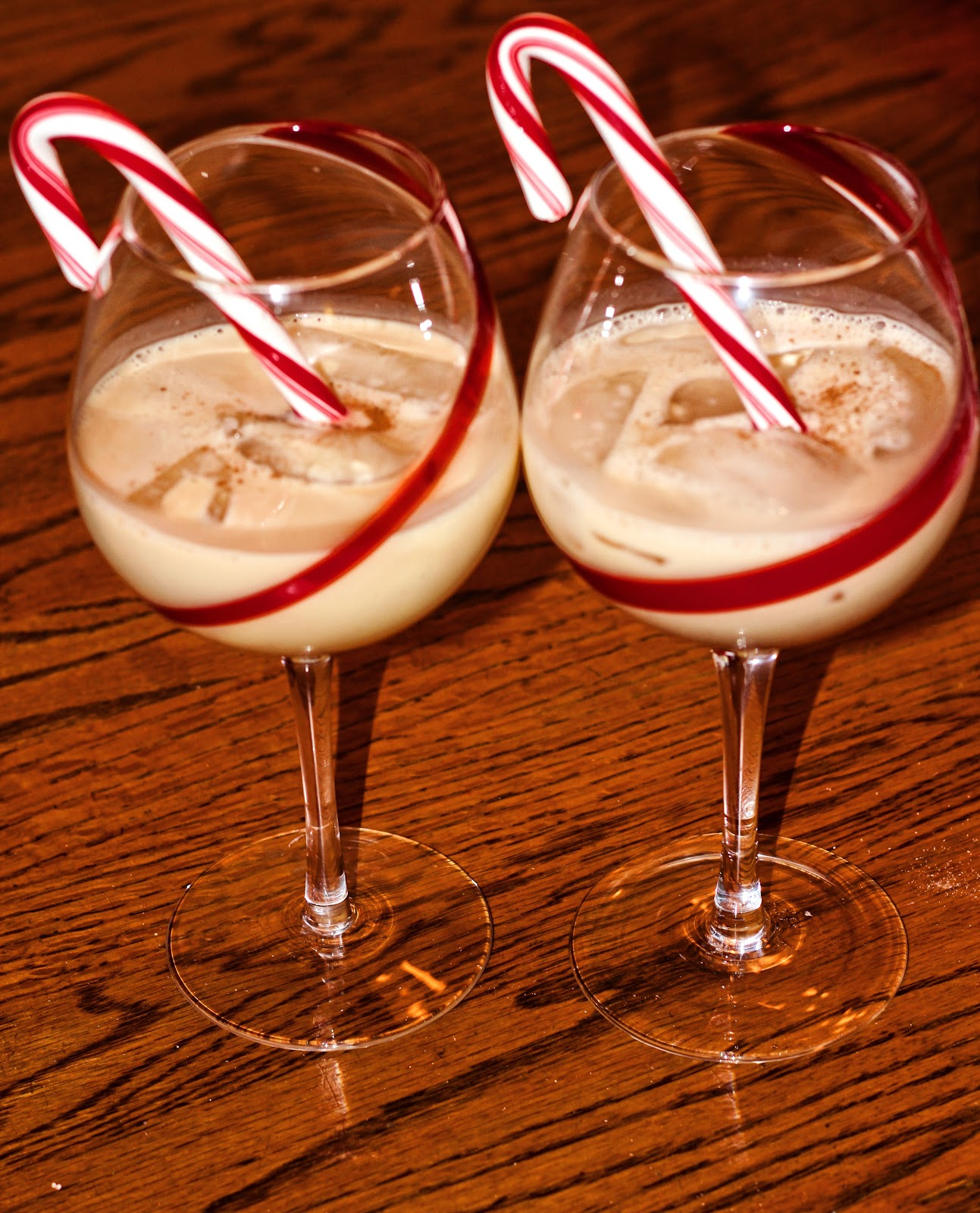 spiked eggnog  happily hughes