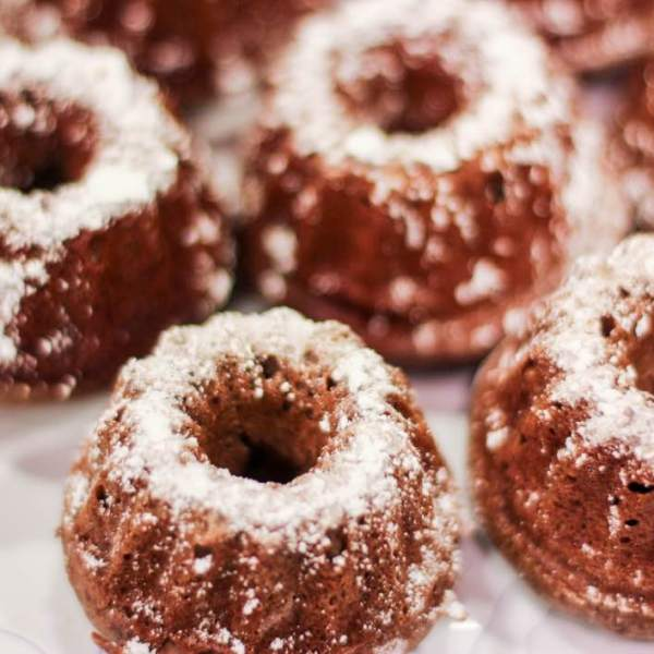 Gingerbread Protein Donuts
