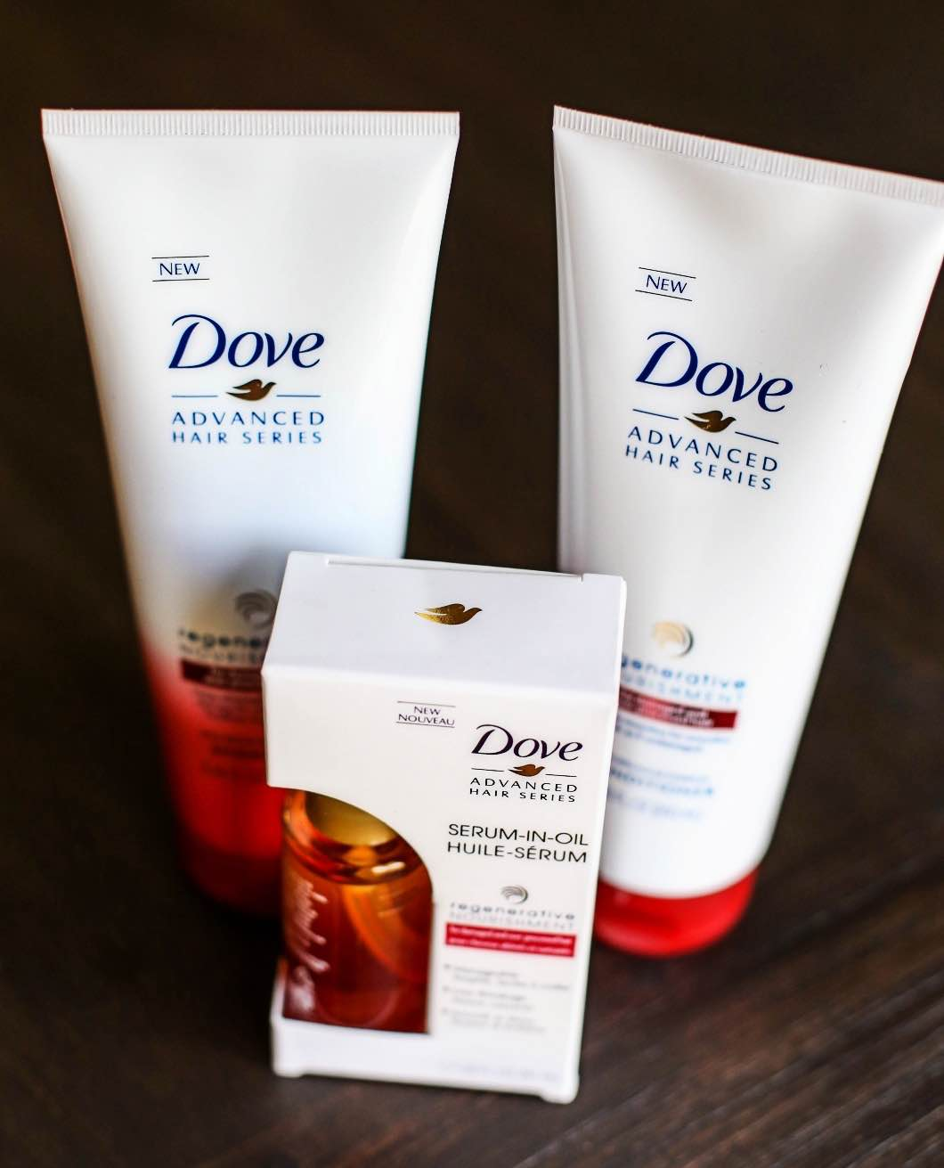 Postpartum Hair Care with Dove