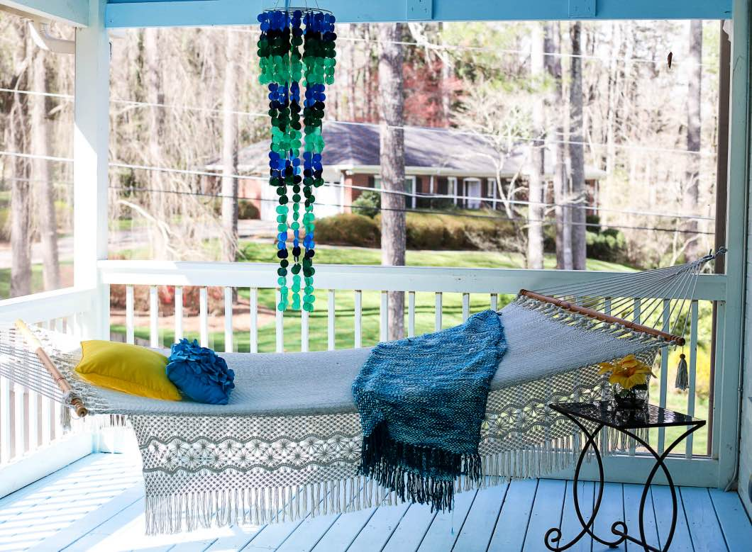 Back Porch Decorating Ideas with Pier 1