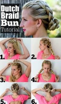 Dutch Brain Bun | Hair Tutorial | Beauty | Happily Hughes