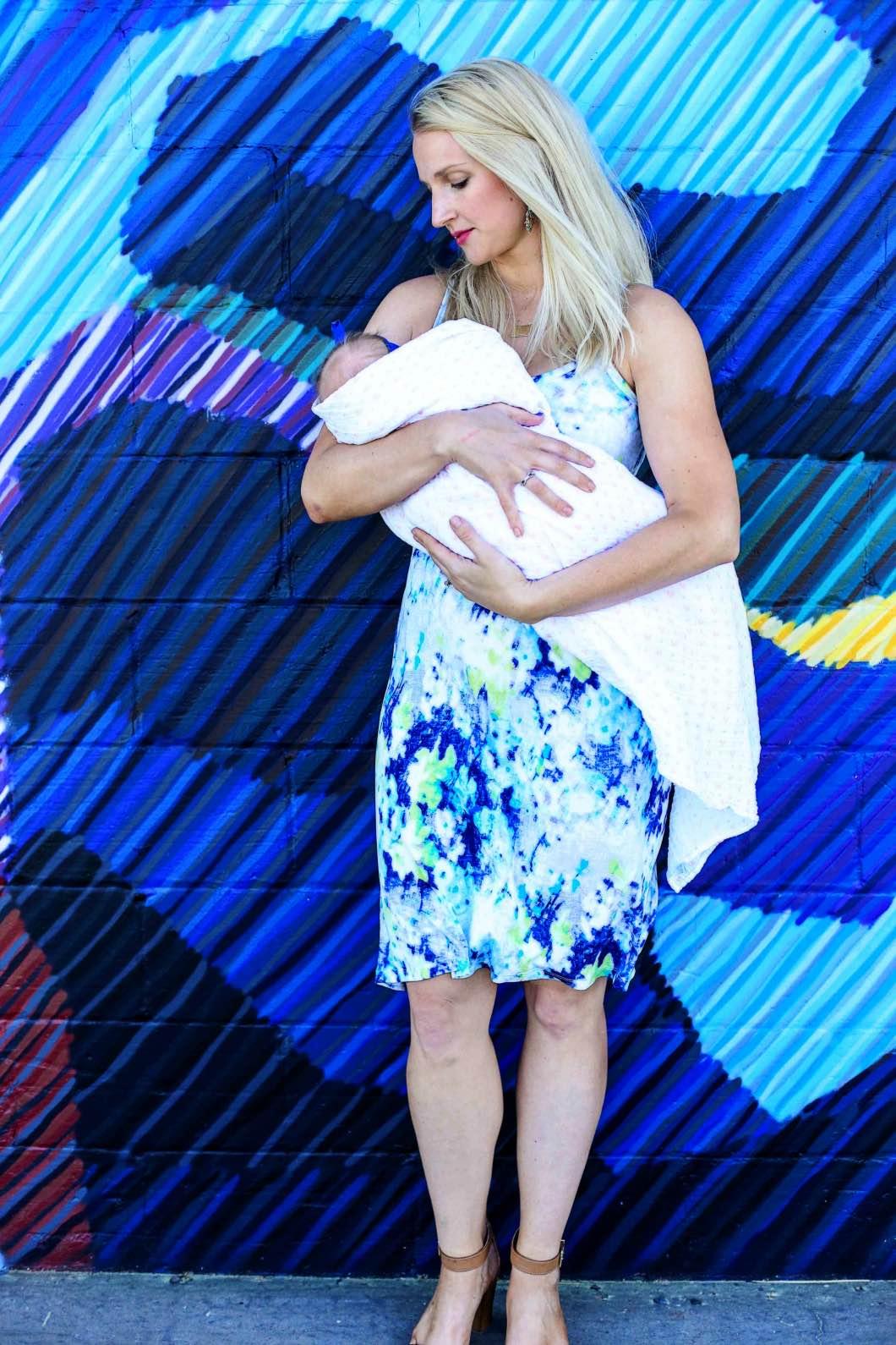 Figure 8 Maternity Nursing Wear by Atlanta blogger Jessica of Happily Hughes
