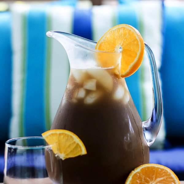 Iced Orange Vanilla Chai Tea