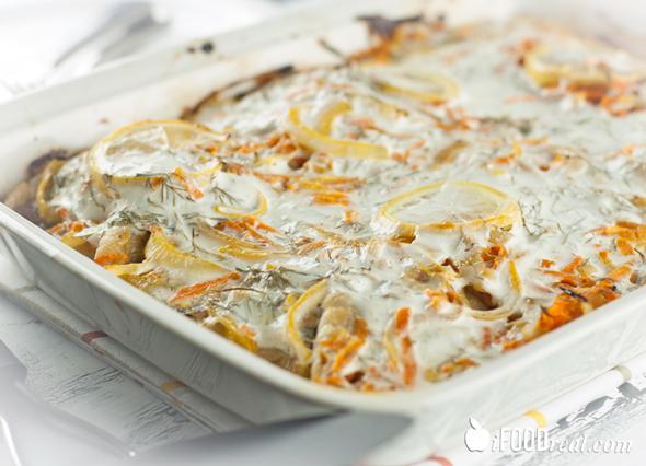 White Fish Bake