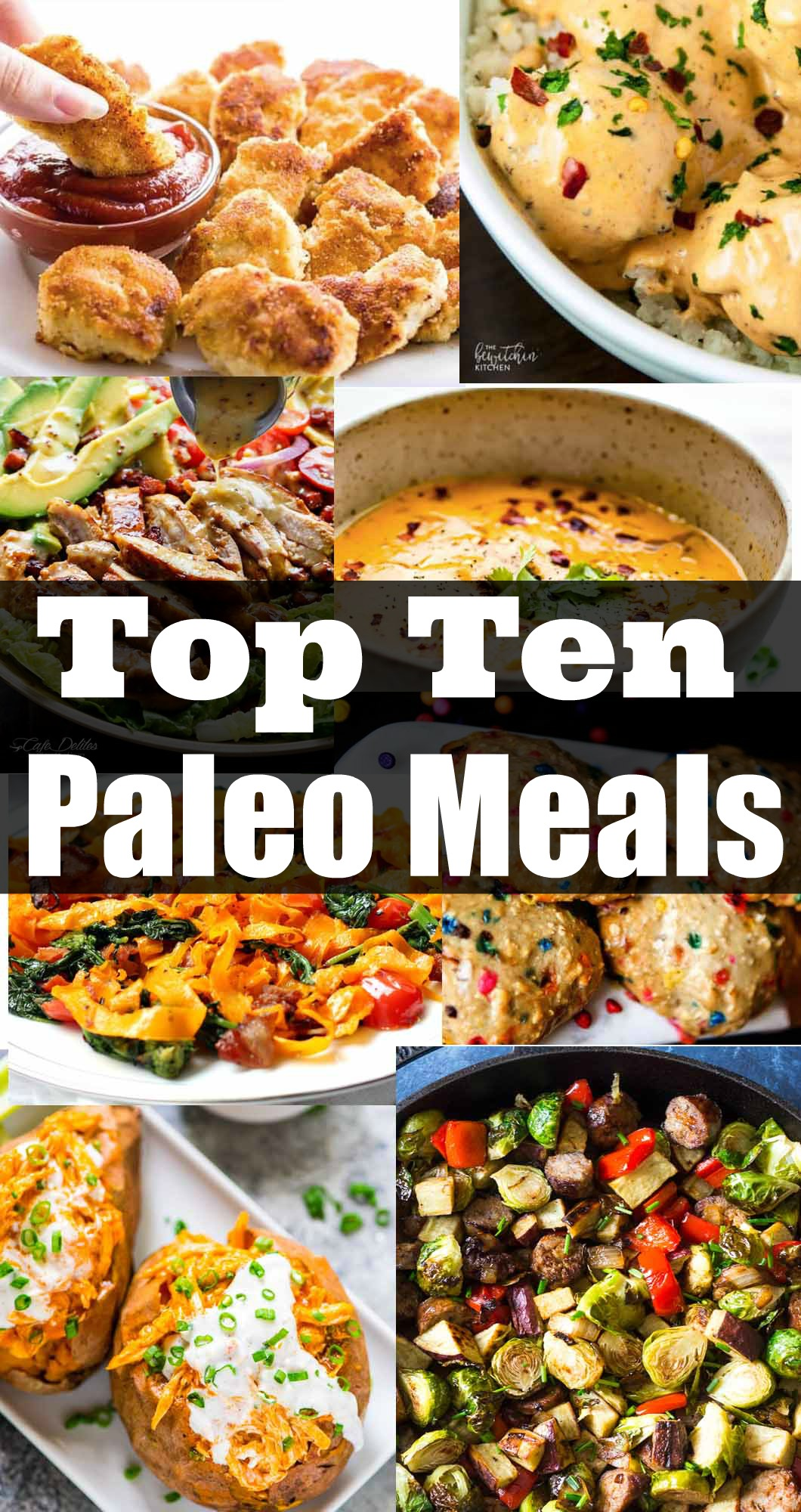 Top Ten Paleo Meals by Jessica from Happily Hughes