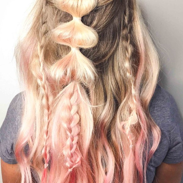 how to unicorn hair