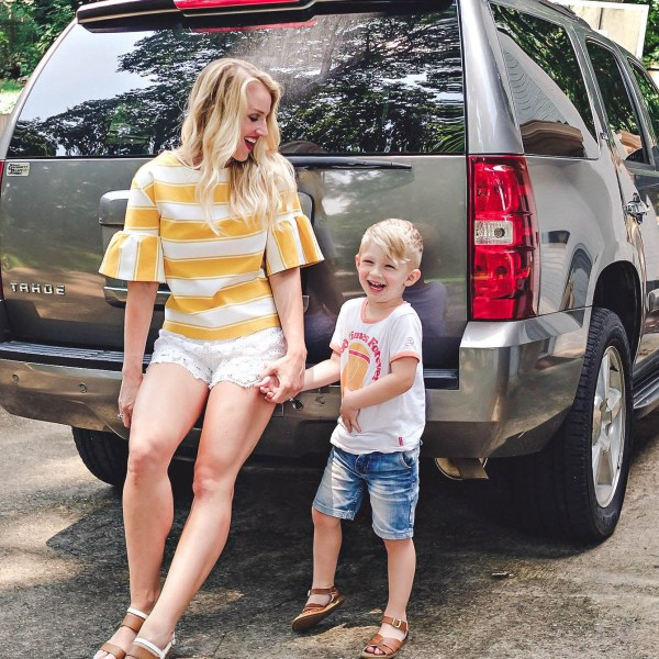 Road Trip Checklist for kids 4 and under