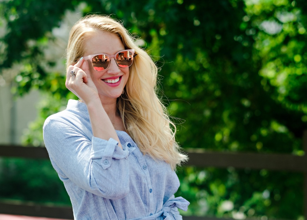 best sunglasses - Summer / Fall Sunglasses Style by Atlanta fashion blogger Happily Hughes