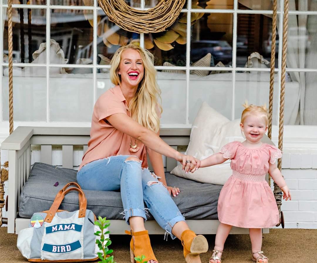 ltkfamilymotherdaughtermatching - Travel Diaper Bag Essentials by Atlanta mom blogger Happily Hughes