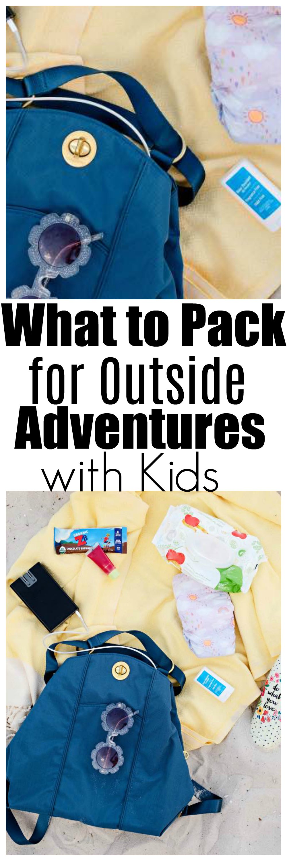 baggalini with zaps - What to Pack for a Day Out with Kids by Atlanta mom blogger Happily Hughes