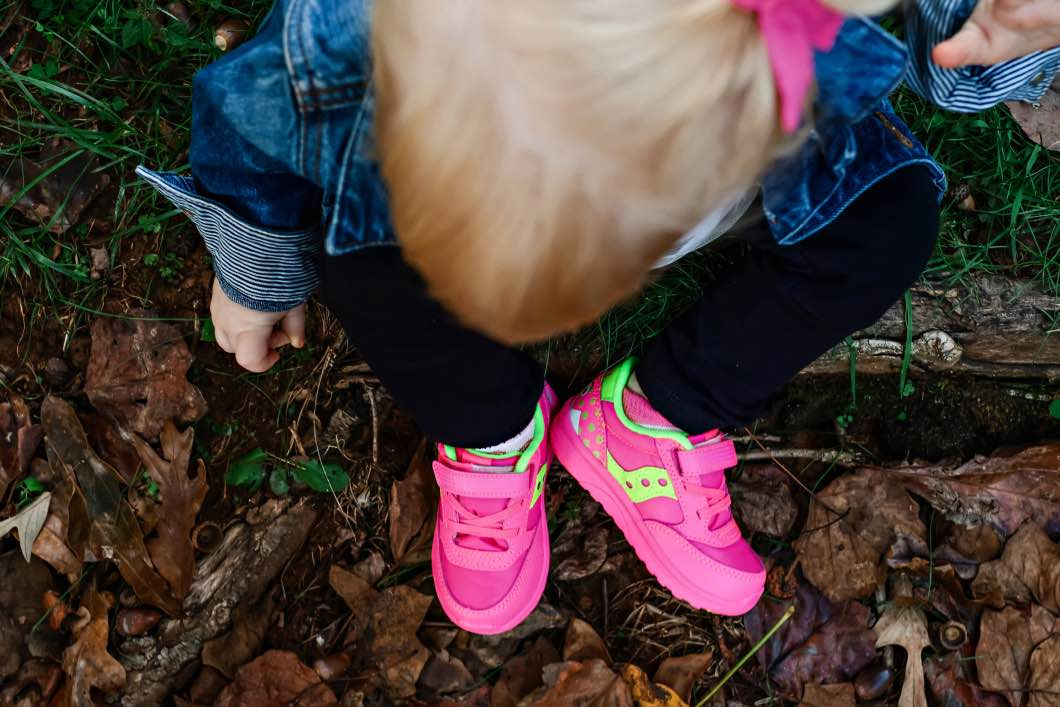 monster saucy - Great Toddler Shoes for Girls by Atlanta mom blogger Happily Hughes