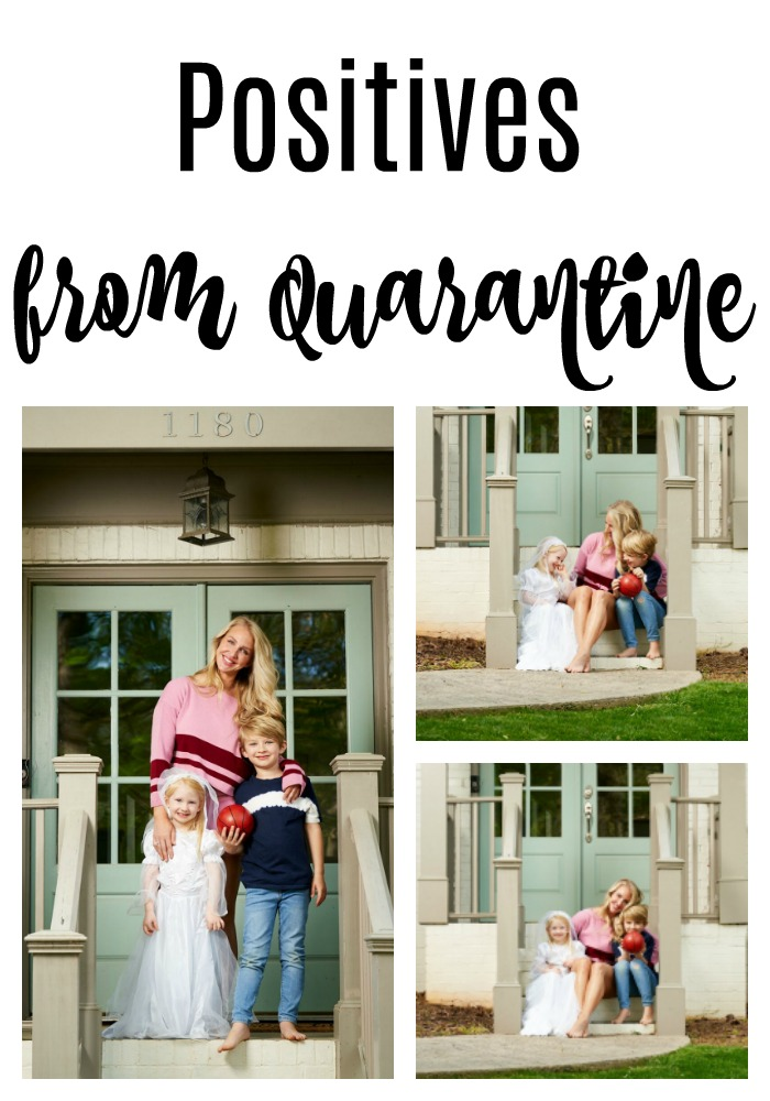 Let's be honest quaratine is hard, right? Popular Atlanta Lifestyle Blogger Happily Hughes is sharing a few positives of quarantine so far. See them here!