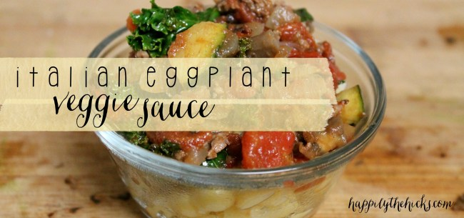 Italian Eggplant Veggie Sauce2