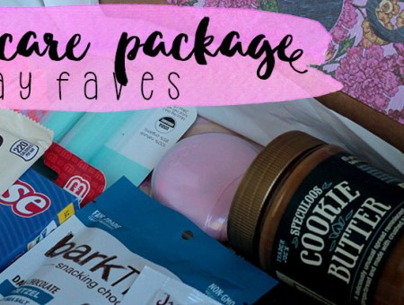 College Care Package | read more at happilythehicks.com